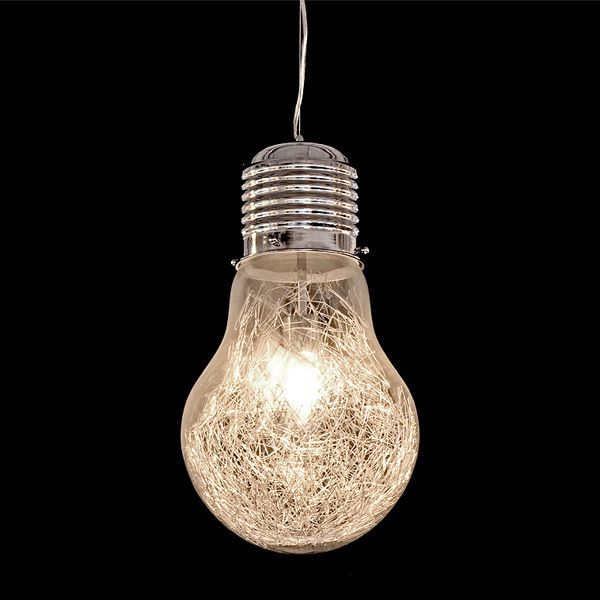 Details About Giant Light Bulb Pendant Lighting Ceiling Glass