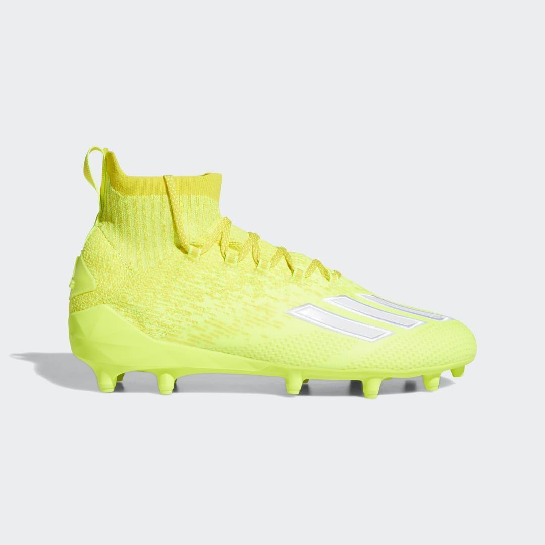 Adidas Adizero Primeknit Cleats Yellow Adidas Us In 2020 Cleats Yellow Adidas Adidas Football Cleats