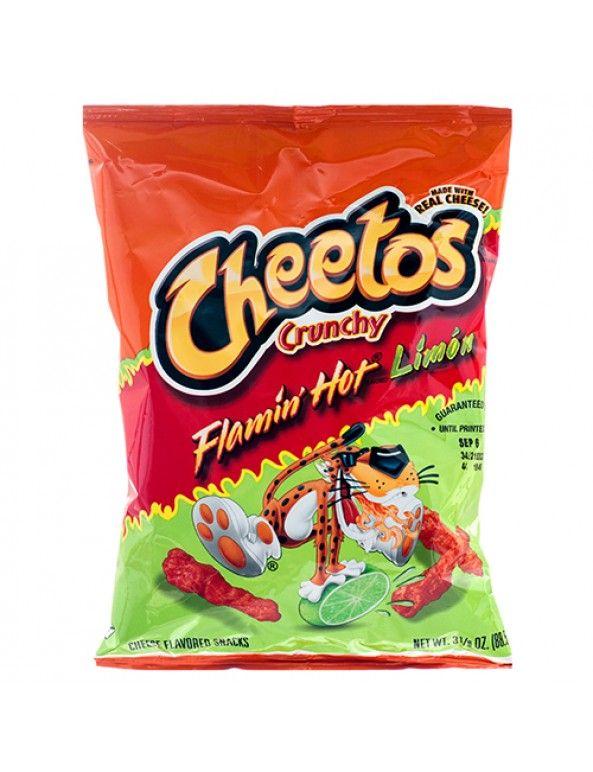 Wholesale Frito Lay Xvl Cheetos Crunchy Hot Limon 325 Oz Bulk Case