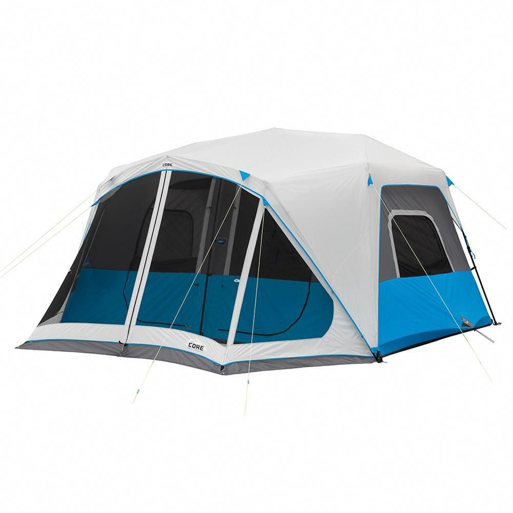 Instant Cabin Tent 10-Person Sleeper 2-Room Outdoor Travel Camping Hiking Gear