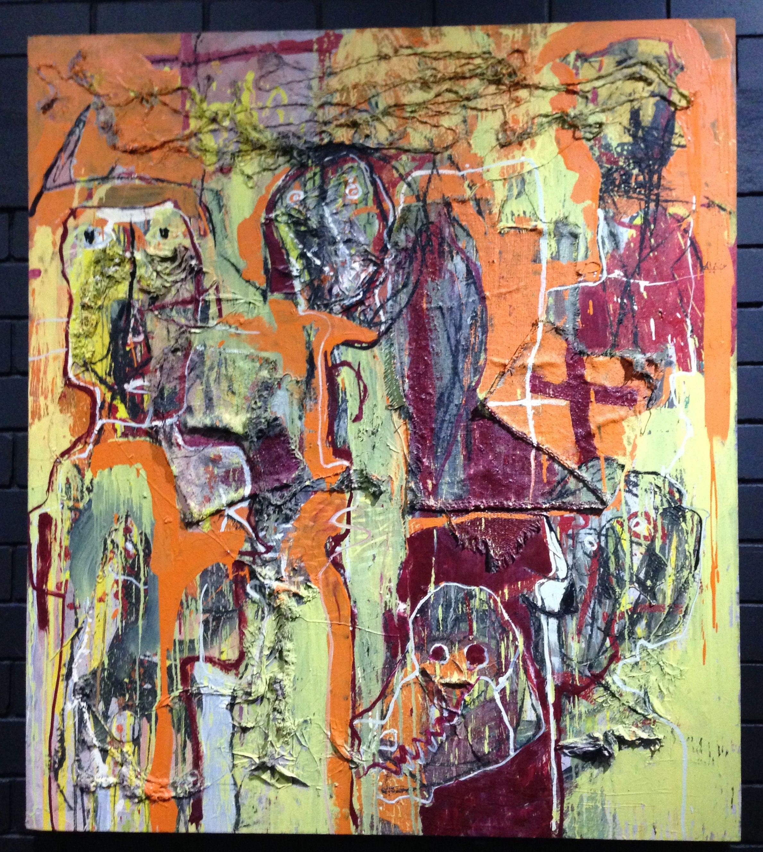 Resultado de imagen para alejandro santiago pintor