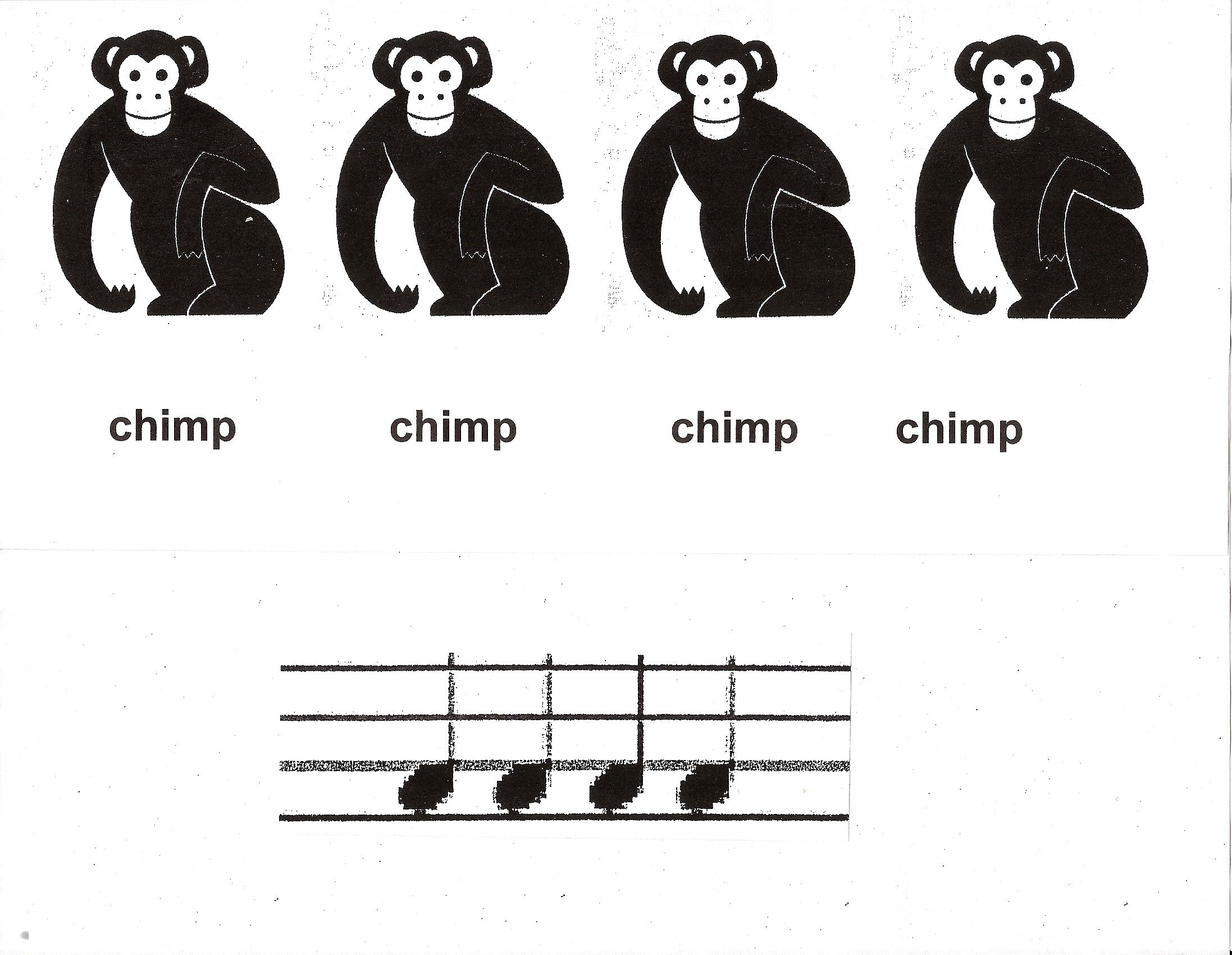 interesting method for teaching rhythm to young children