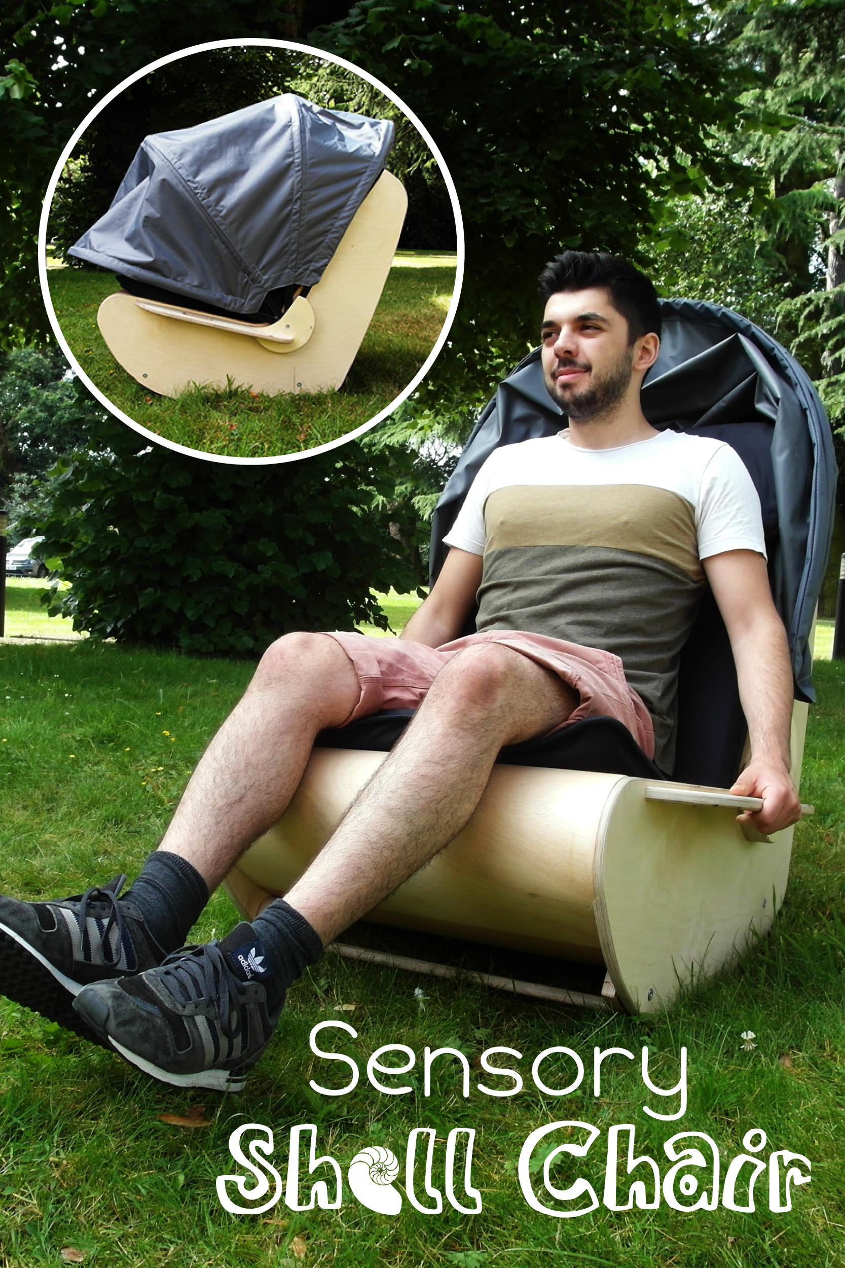 Rocking Chair For Autistic Child Staples Ergonomic Pin By Emma Blommaert On Stoele Sensory Equipment
