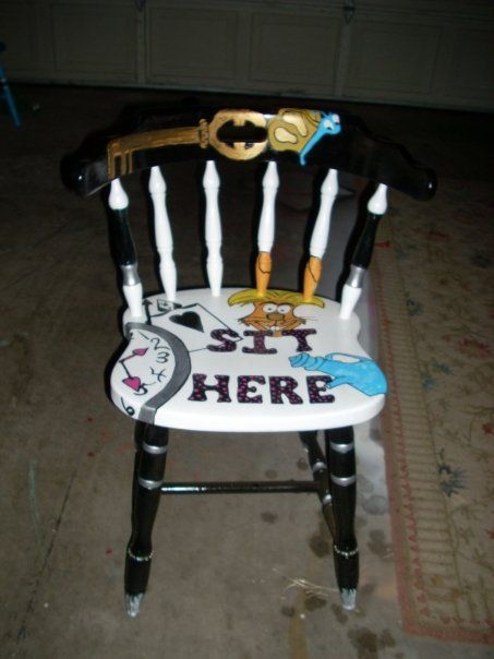 Alice In Wonderland Mad Tea Party Chair