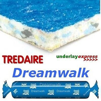 Cheap Tredaire Dreamwalk 11mm Carpet Underlay Carpet Underlay Carpet Food