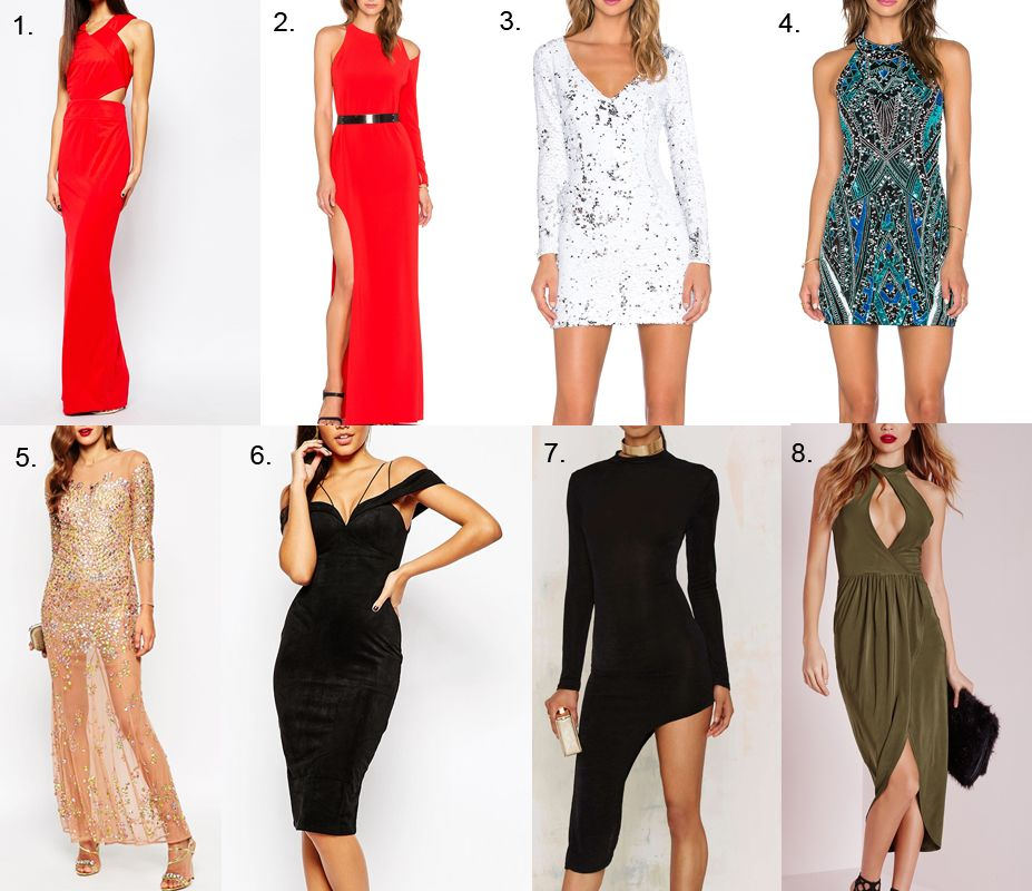 New Year's Eve Party Dresses