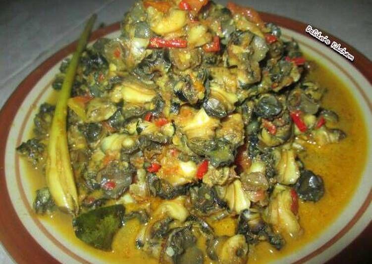 Resep Rica Rica Keong Oleh Delita S Kitchen Resep Makanan Resep Keong