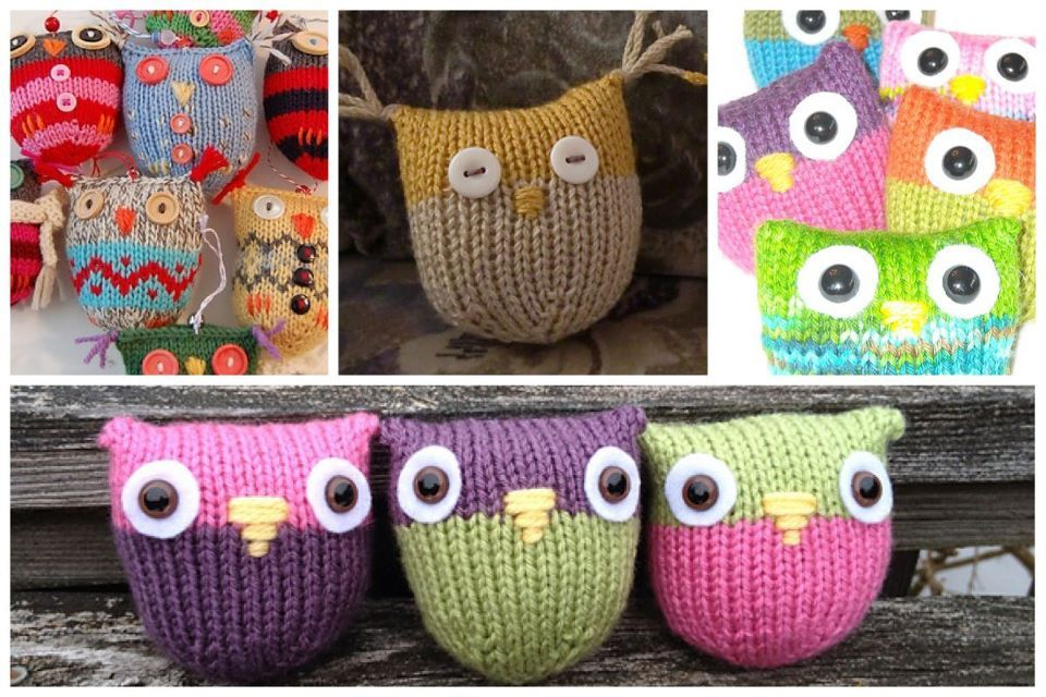 These Owls are a HOOT!! Free pattern on Raverly. http://www.ravelry ...