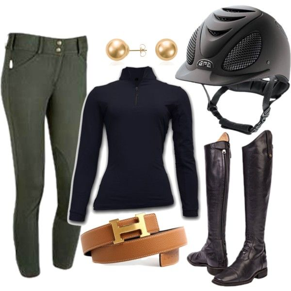 Untitled #119 by rider-chic on Polyvore featuring Blue Nile and Hermès