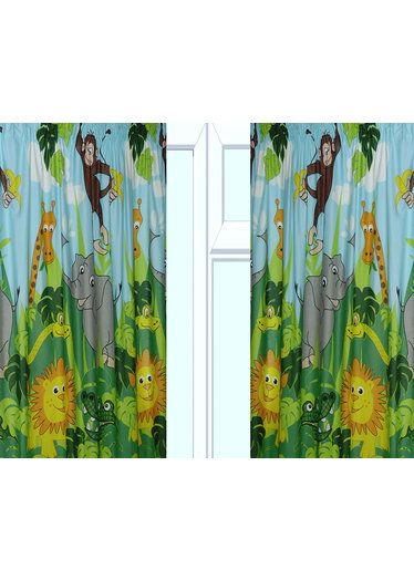 Jungle Curtains In 54 And 72 Inch