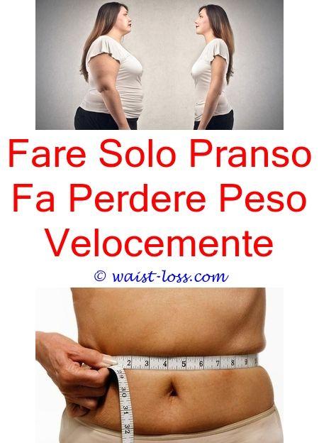 perdere peso un giorno