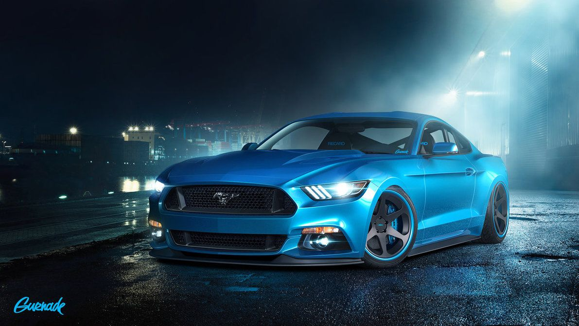 2015 Ford Mustang GT by Gurnade  Ford Muscle Cars and Ford Hot
