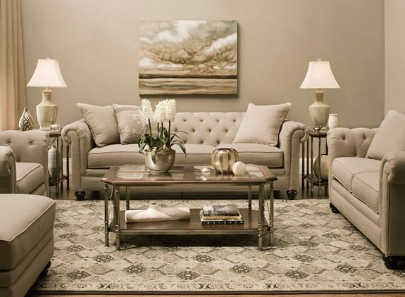 Merveilleux Living Room Ideas : Raymour And Flanigan Living Room Furniture Tufted Beige  Elegant Leather Howell Sofas Rectangle Brown Wooden Table With Shelf Floral  ...
