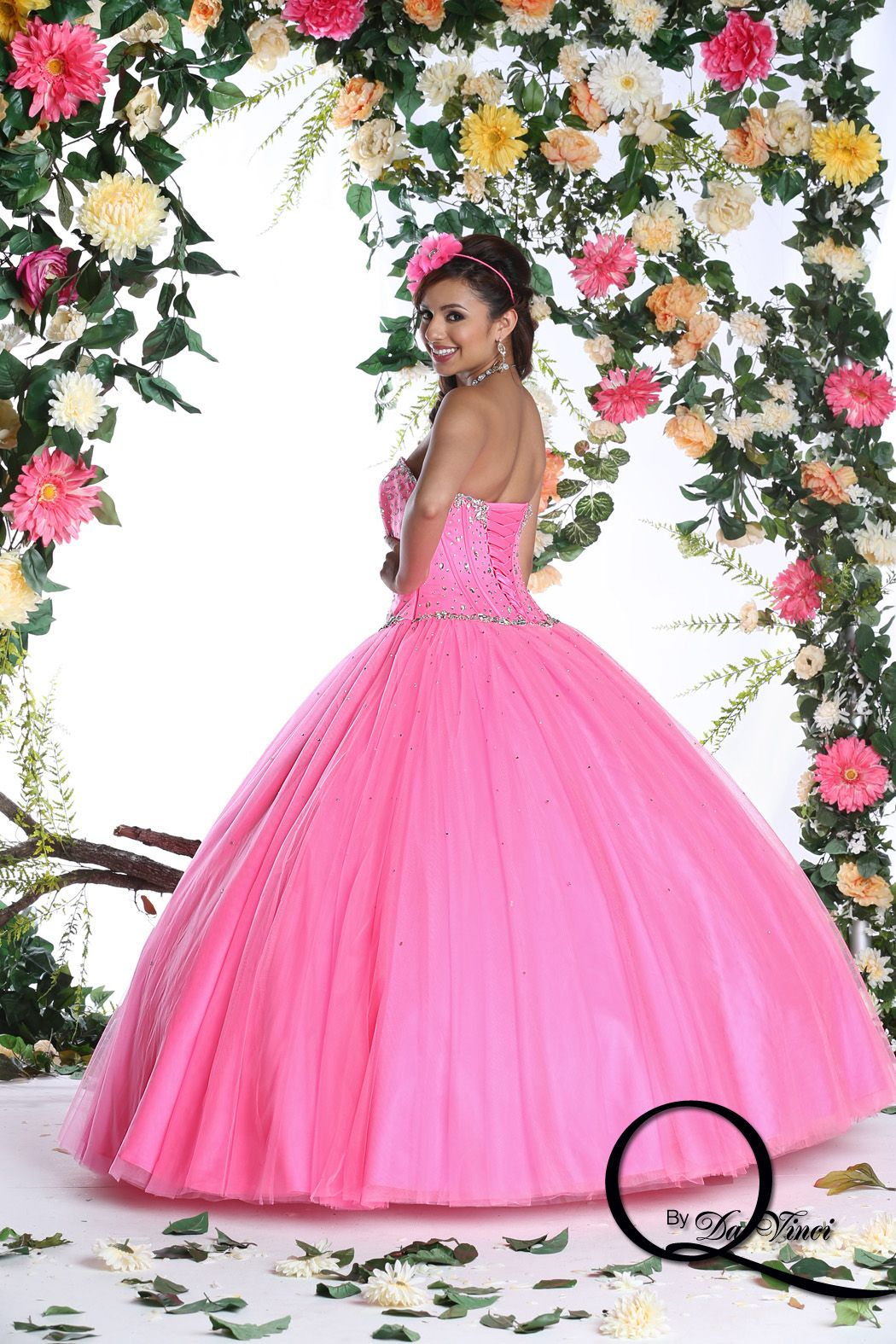 Gorgeous Q by Davinci style 80263 featuring hermoso tulle in colors ...