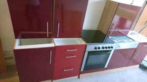Ich verkaufe hier meine Einbauküche mit E-Geräten siehe Fotos - küchenzeile gebraucht mit elektrogeräten