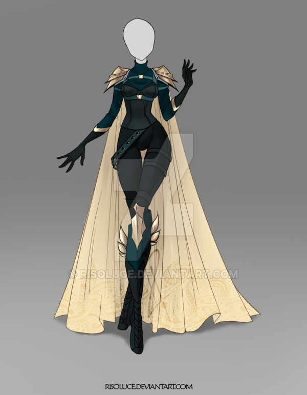 Photo of [CLOSED] Raffle Outfit 1 (the 30th list) by JawitReen on DeviantArt