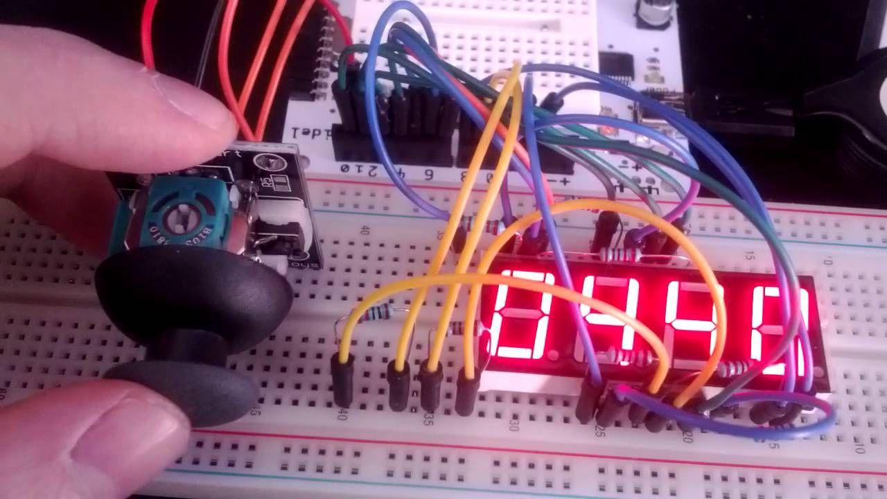 Arduino Joystick Multi Digit 7 Segment 5461as Protoboard For Electronic Projects Buildcircuit Raspberry