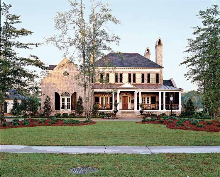 Colonial House Plans   Home Design Ideas   home design Ideas ...