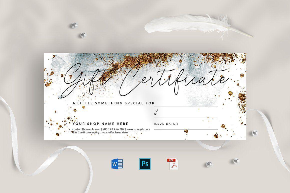 Gift Certificate Gift Certificate Template Gift Card Template Certificate Templates
