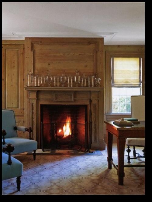 Superb Get The Colonial Look  Designer Steven Gambrelu0027s Sag Harbor Home    Beautiful Color Schemes U0026