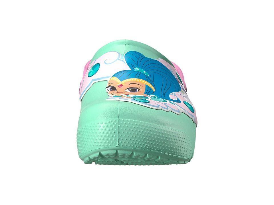 28e0a53fbe3837 Crocs Kids Fun Lab Shimmer Shine Lights Clog (Toddler Little Kid) Girls  Shoes