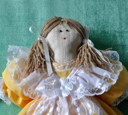 Deko-Puppe-Stoffpuppe-Handarbeit-Dekoration-fuer-Zuhause-oder