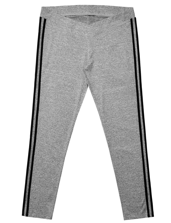 b5eb0a4295352e pregnancy workout - Bhome Womens Side Stripe Low Waist Stretch Yoga Track  Pants Workout Sportswear Slim Maternity Leggings Heather Grey XL *** See  this ...