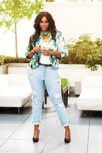 Estilo Casual Chic Con Jeans Para Gorditas Ropa Como Combinar Ropa Look Casual Chic