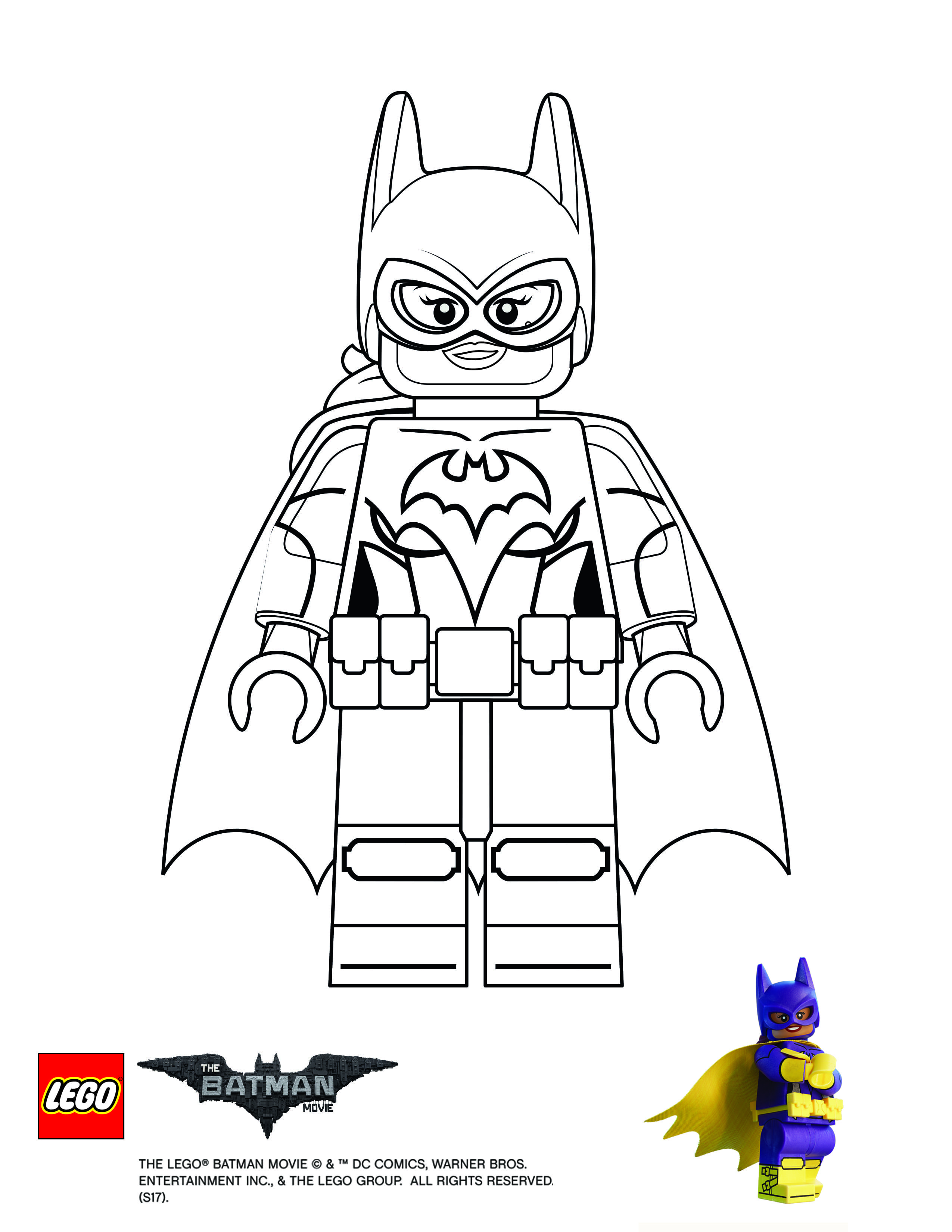 Coloring Page Batgirl Lego Coloring Pages Batman Coloring Pages Lego Batman Birthday