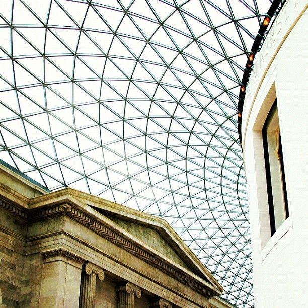The Queen Elizabeth Ii Great Court Of The British Museum Designed