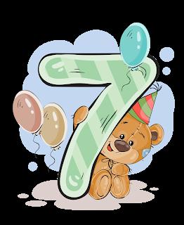 Numeros Con Osito Cumpleanero Numbers With Birthday Bear Pegatinas De Meses De Bebes Tarjetas De Cumpleanos Para Ninos Dibujo De Bebe