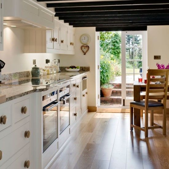 Design Ideas For Galley Kitchens Kitchens Dream Kitchens Beautiful Kitchens Galley Kitchen Design