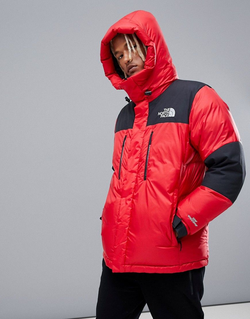 58d551e55 THE NORTH FACE ORIGINAL HIMALAYAN WINDSTOPPER DOWN IN RED - RED ...