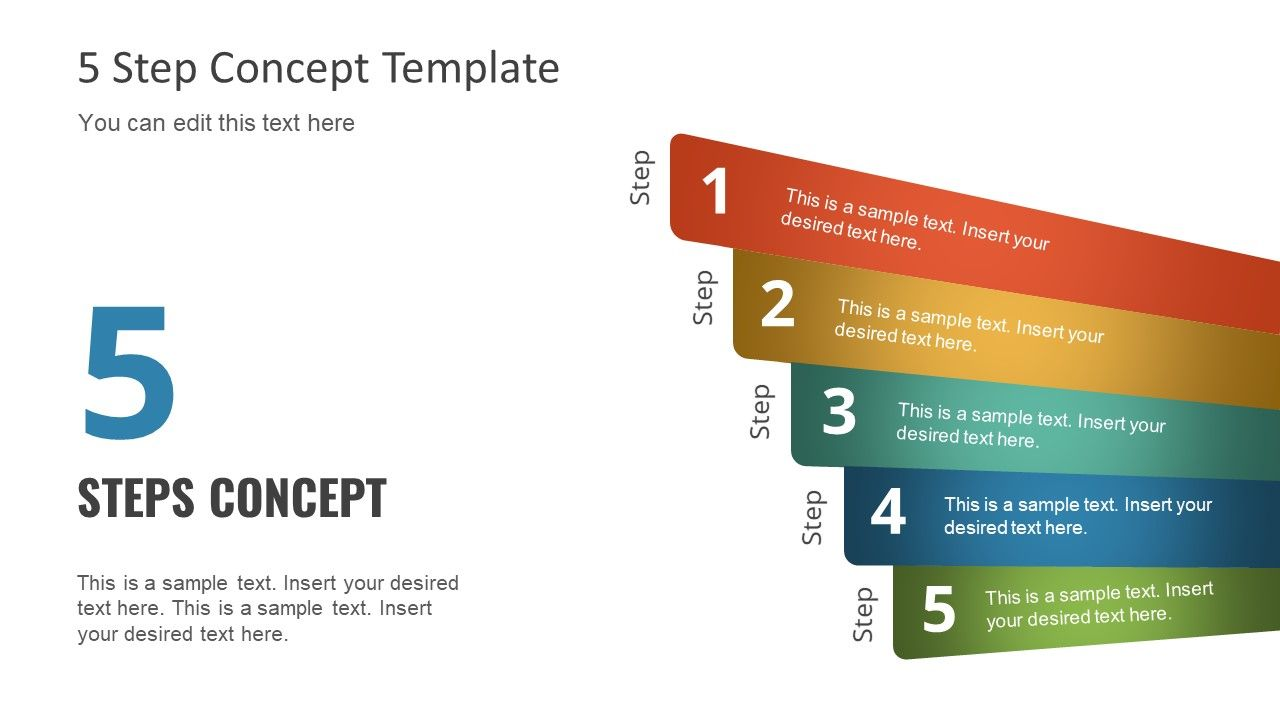 Diagram Of 5 Steps Ppt Powerpoint Templates Powerpoint Template Free Powerpoint