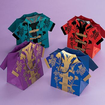 Chinese Shirt Favour Bag | Favor Bags and Boxes | Party ...