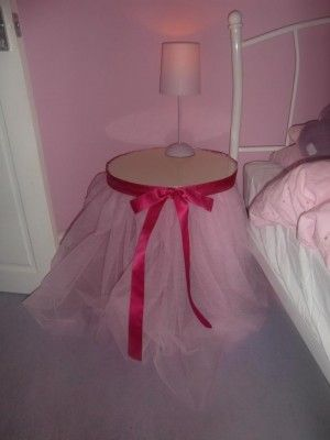 How To Make Tutu Table Skirt   Google Search, Use Solid Color Under Tulle To