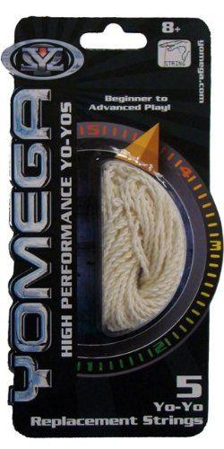 Yo-Yo Replacement String - White, 2015 Amazon Top Rated Yo-yos #Toy