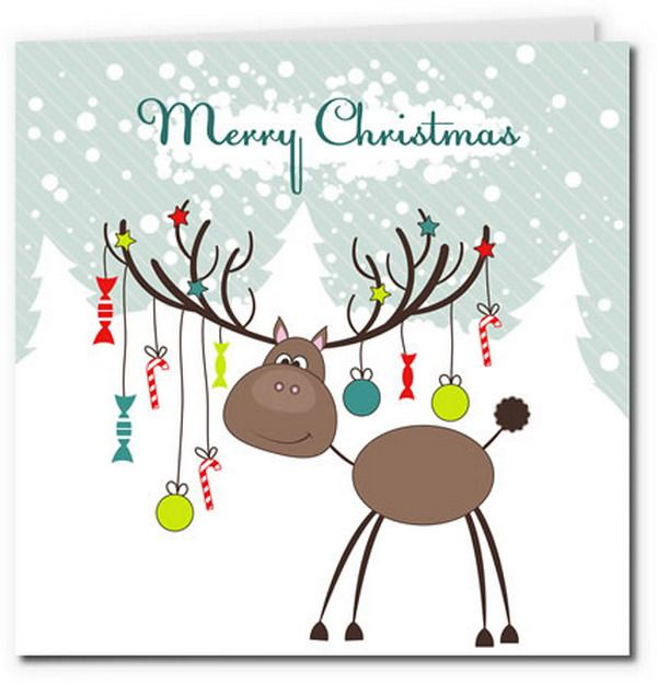 40 Free Printable Christmas Cards Hative Free Printable Christmas Cards Printable Christmas Cards Christmas Cards Free