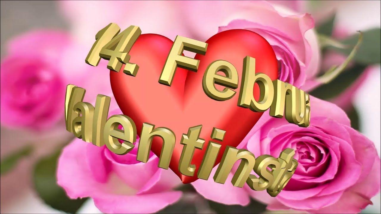 Liebe Grusse Zum Valentinstag Happy Valentine Day Zauberhafte