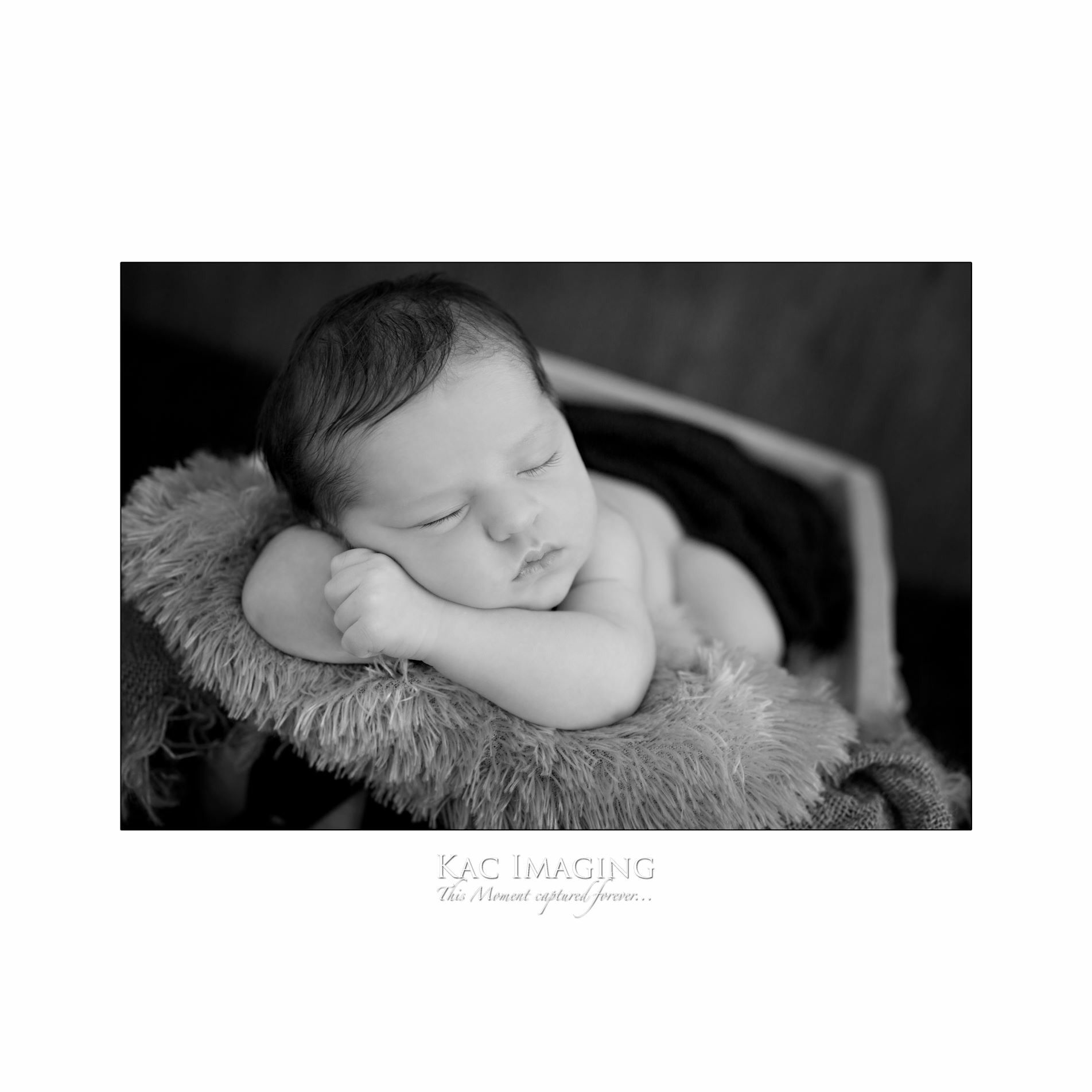 Newborn session baby photography