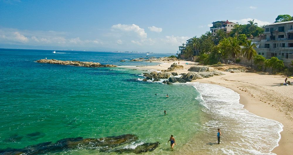 Garza Blanca Beach Boasts A Standard