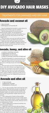 7 DIY Avocado Hair Mask Treatments for Damaged and Dry Hair  hair treatment