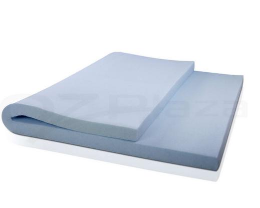 Cool Gel Memory Foam Mattress Topper Gel Lather Imparts Cool Gel