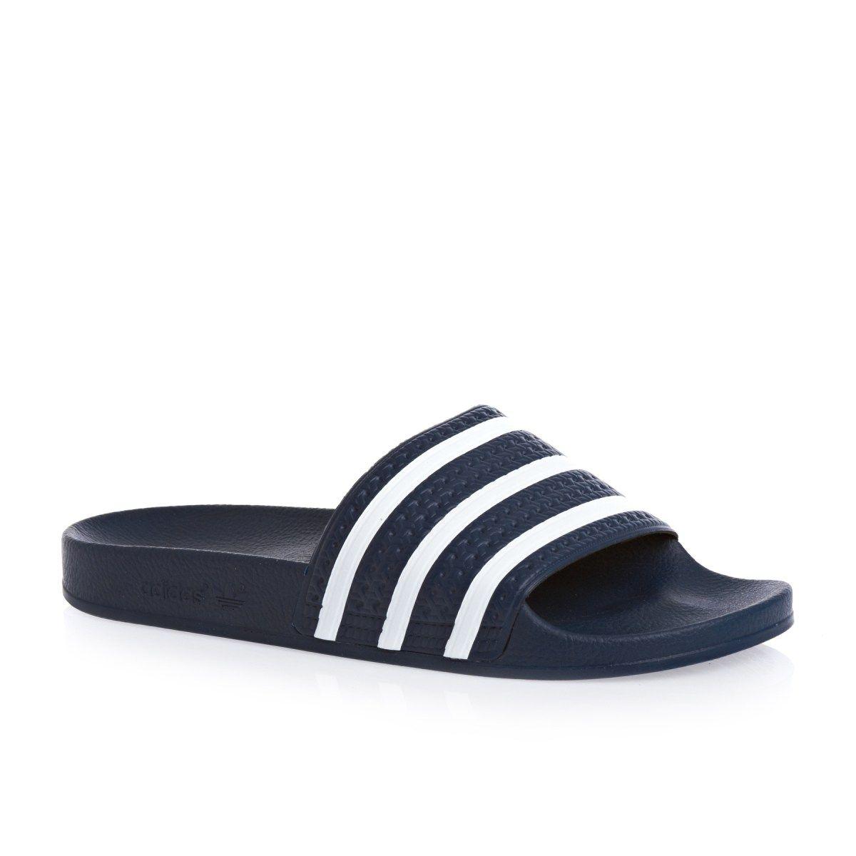 gemelo Pronombre pantalones  Men's adidas originals Sandals - adidas originals Adilette N Sandals -  adidas Blue | Adidas sandals, Blue sandals, Mens flip flops