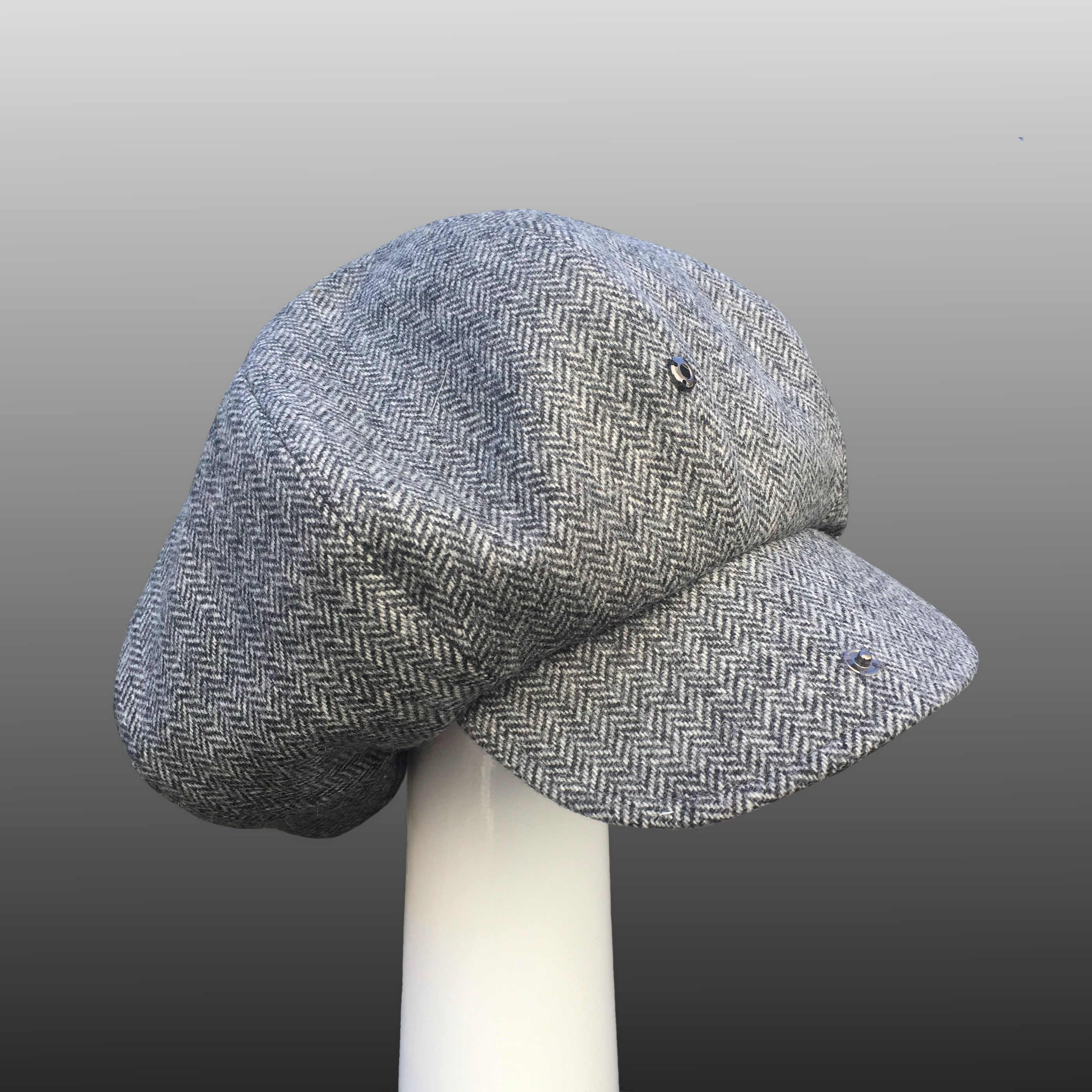 Wool Women Men Top Hat for Gentleman Lady Steampunk Fedora Hat with Floral Satin Ribbon Black