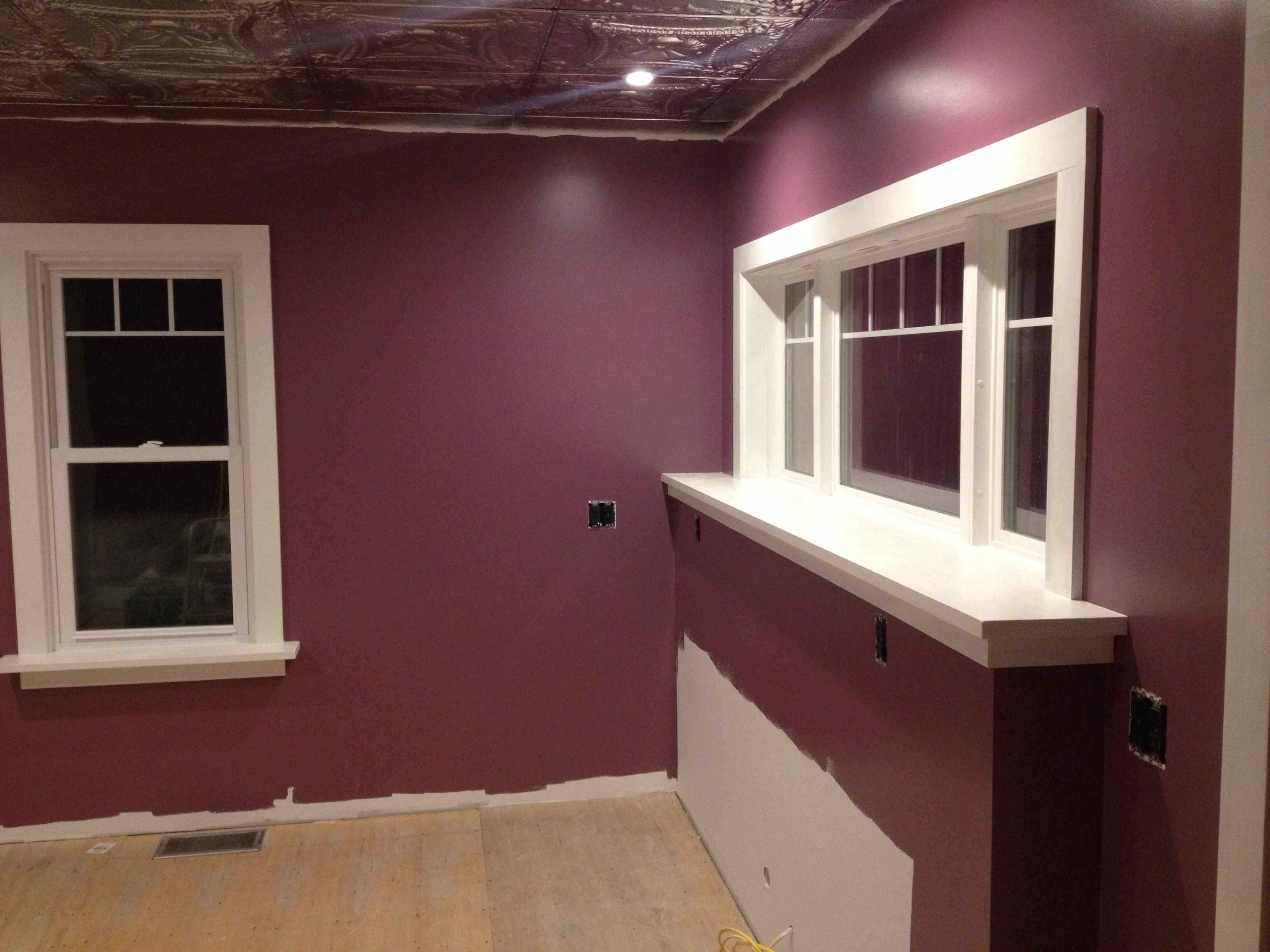 Sherwin Williams Plum Dandy! | Kitchen ideas | Pinterest