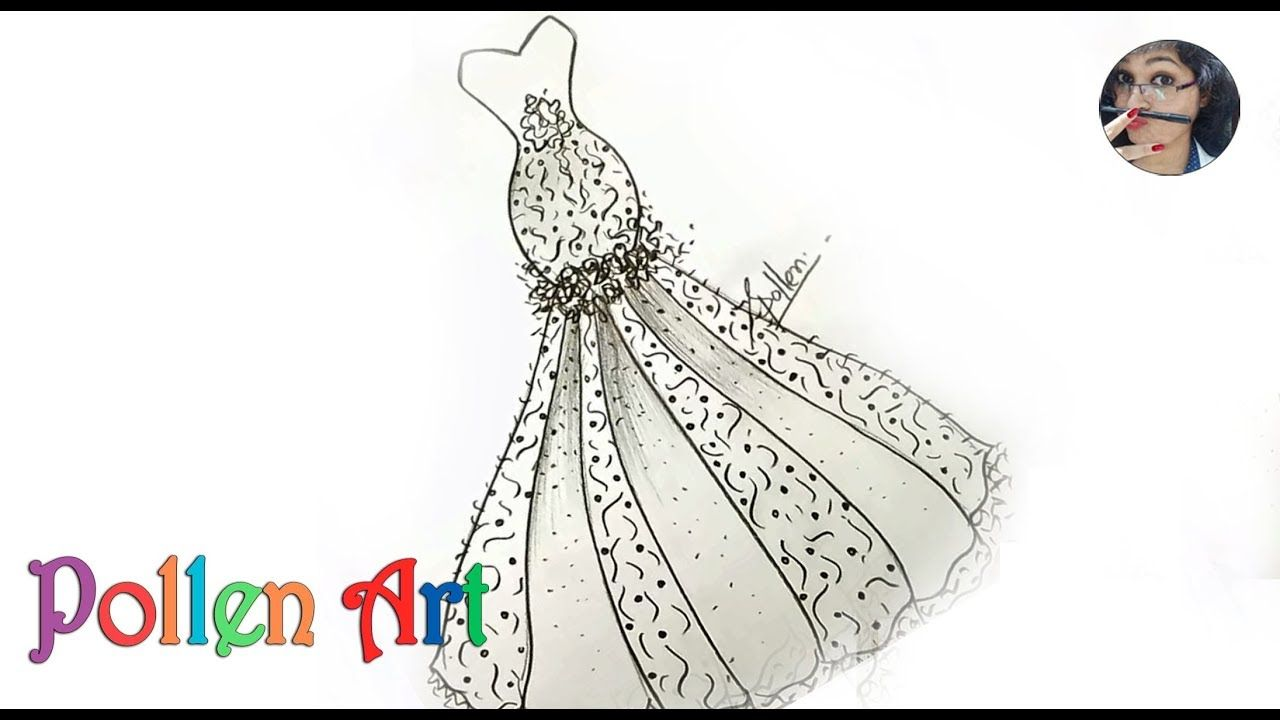 How To Sketch Wedding Fashion Designs Dress How To Draw Dresses Like A Fashion Designer 20 In 2020 Fashion Design Dress Dress Drawing Wedding Styles