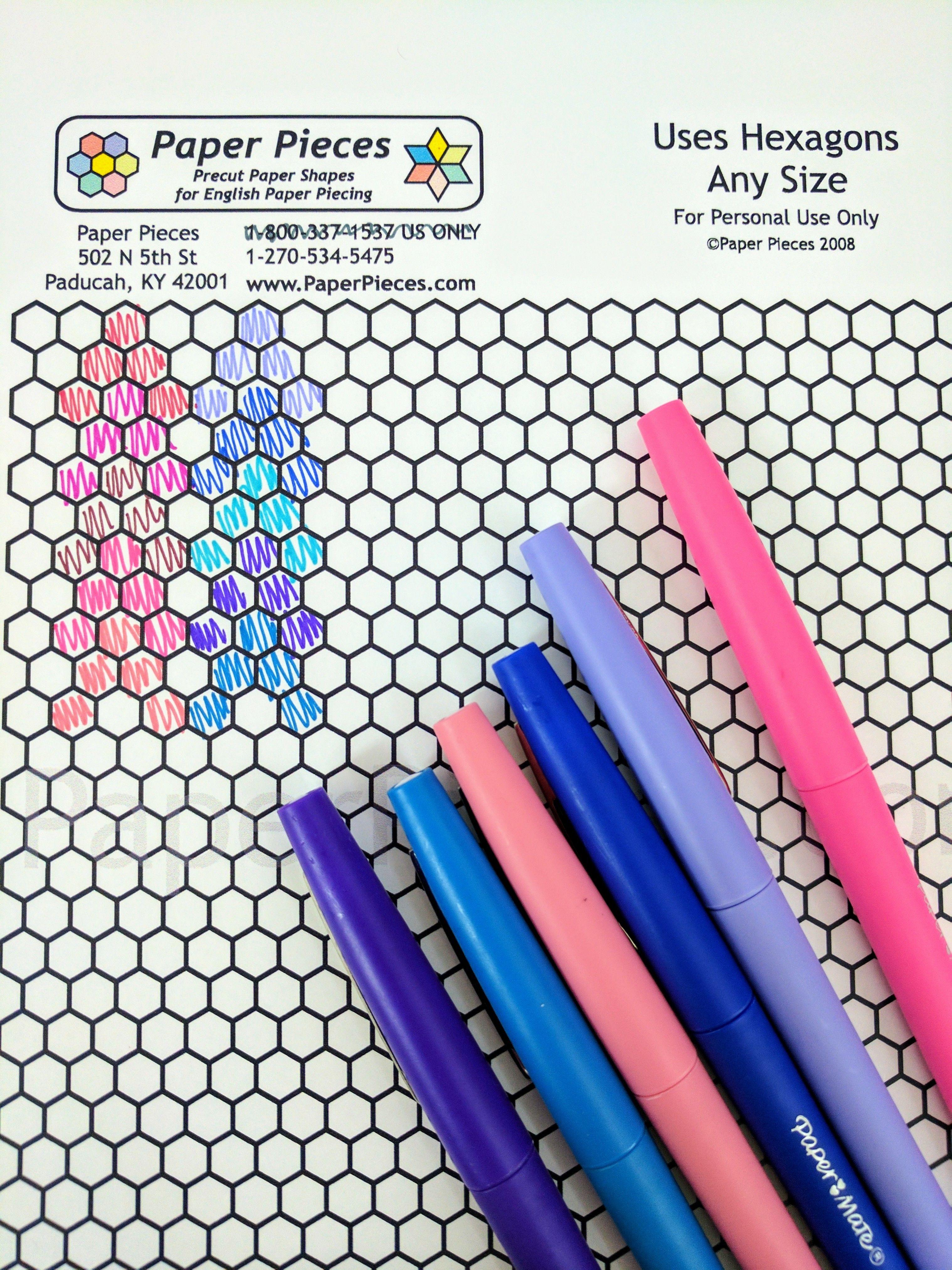 Free Download Hexagon Sheets