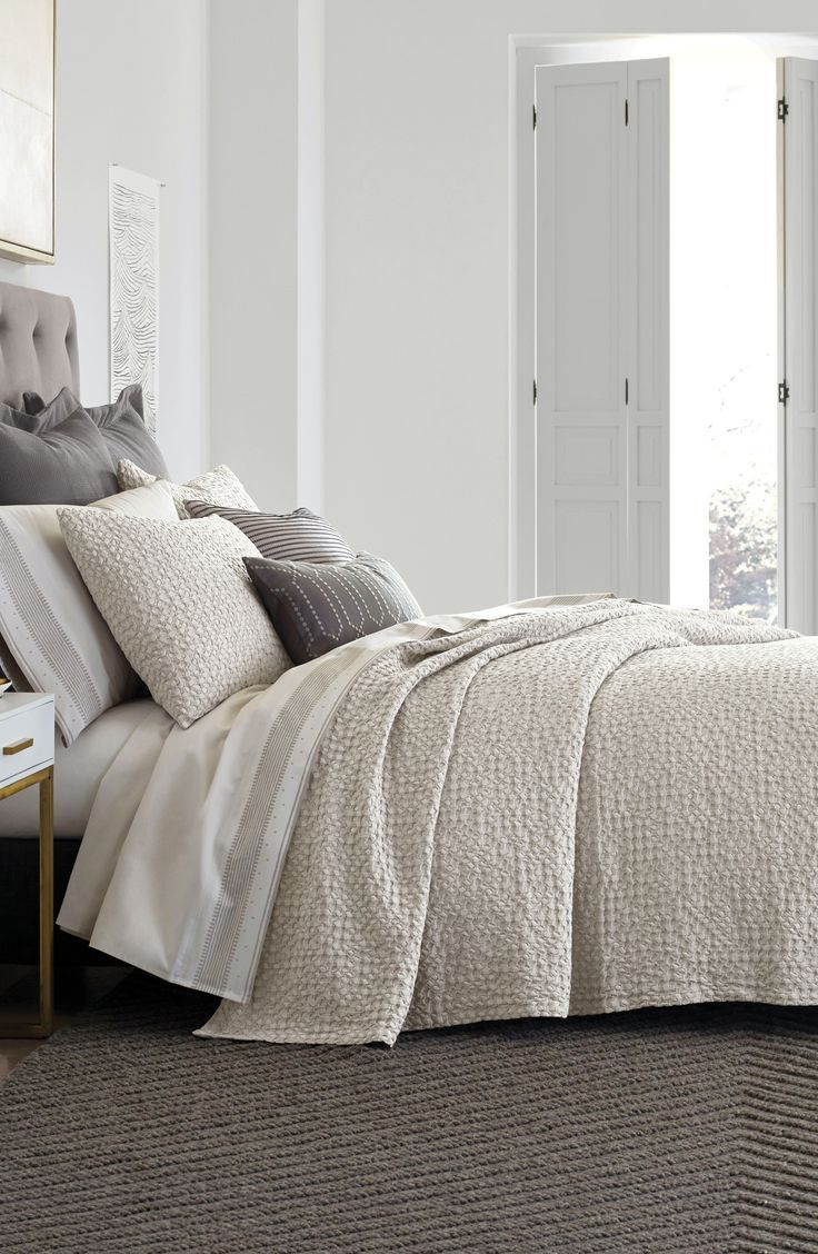 Master bedroom goals  Thayer Coverlet Bedroom goals nordstrom sale nsale  Master bedroom