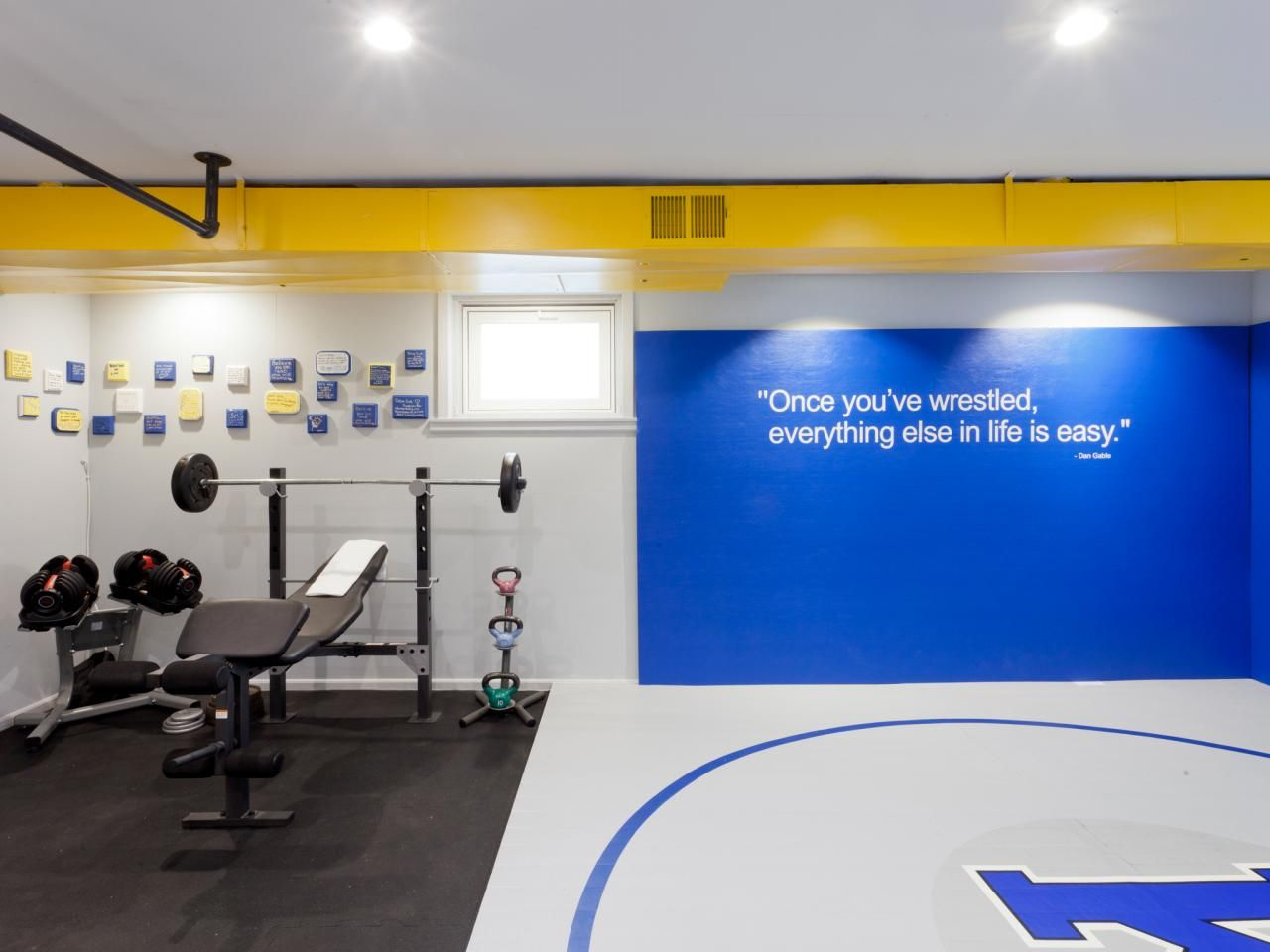Image result for home wrestling rooms